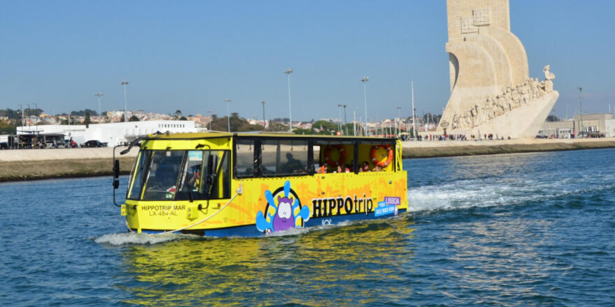 Conhecer Lisboa numa Hippotrip de verão