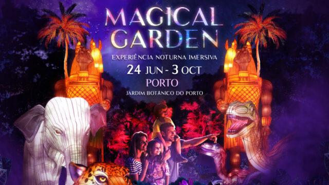 Magical Garden: desperte os seus sentidos